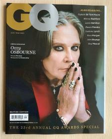 GQ绅士2021年1/2月合刊 英国版时尚潮流男士服装英文杂志