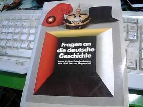 德国历史问题;1800年至今决策【德文版】