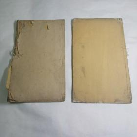 光绪时期补读斋刊印唐绝诗钞注略一套两册