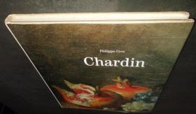2手法文 Chardin  夏尔丹画册 顶部有霉斑 sea2