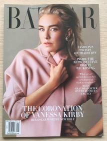 美国版HARPER`S BAZAAR 芭莎2020年12/2021年1月合刊英文服装杂志