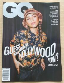 美国版 GQ绅士2021年2月 时尚潮流男士服装英文杂志