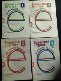 ESSENTIAL ENGLISH 1.2.3.4 四册合售