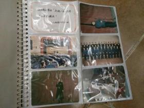 """武汉市市委党校举办""""庆祝一九八六年元旦文艺演出""""彩色老照片一册29张,有交际舞,舞蹈,相声,独唱等内容,品好包快递发货。"""