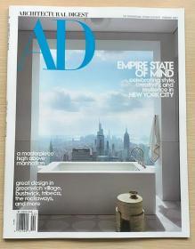 AD ARCHITECTURAL DIGEST建筑辑要2021年2月美国建筑设计英文杂志