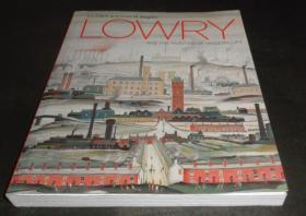 2手英文 LS Lowry and the Painting of Modern Life 劳瑞 L.S.Lowry xaa12