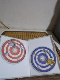 游戏光盘 大富翁4 光盘2张 裸碟
