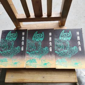 神雕侠侣 上中下 全三册合售 一版一印