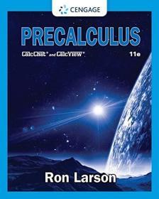预订  Precalculus   Ron Larson 英文原版 微积分基础 初等数学