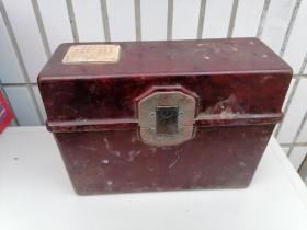 解放初期一一一通2528B0473型电话。繁体字语录和说明牌。完美