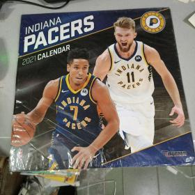 Turner SPORTS Indiana Pacers 2021 12X12 Team Wall Calendar