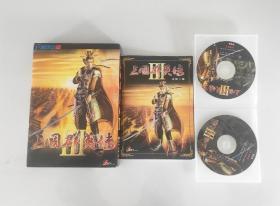游戏光盘 三国群英传3首发版