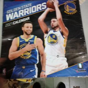 TURNER Sports Golden State Warriors 2021 12X12 Team Wall Calendar