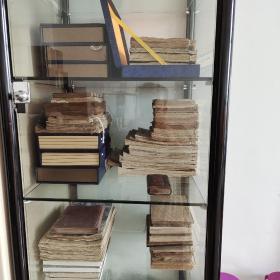 手抄本  祖传秘方中医手抄本中药养生手抄本经方验方,一共9本