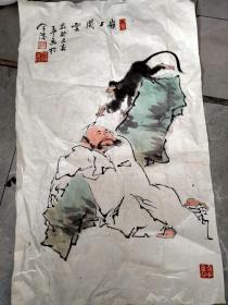 张春生 国画 南京著名画家2
