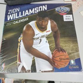 New Orleans Pelicans Zion Williamson 2021 Calendar