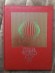 原版足球画册 OSB 1990世界杯加厚版 240页 皮质封面