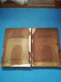 中国经济史:大学丛书(全两册)