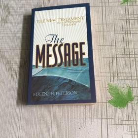 The Message:The New Testament in Contemporary Language(英文原版)(首页有字迹;见图)