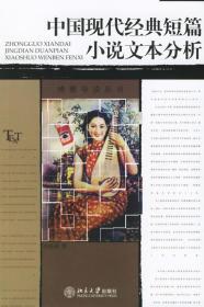 T中国现代经典短篇小说文本分析 刘俐俐 北京大学出版社