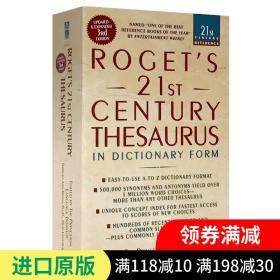 Roget's 21st Century Thesaurus, Third Edition (21st Century Reference)