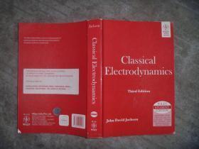 Classical Electrodynamics Third Edition (经典电动力学 第三版)英文原版 后封面有防伪标志 【16开 扉页有笔迹】