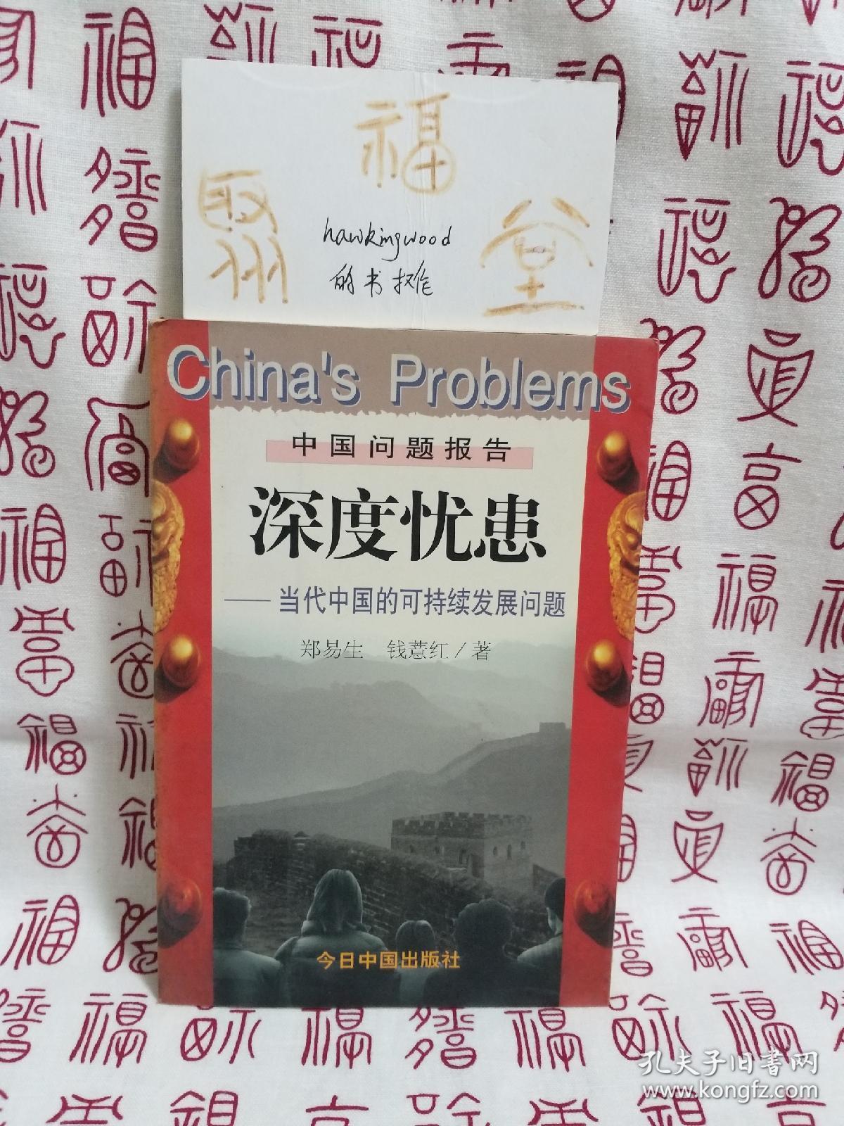 深度忧患:当代中国的可持续发展问题