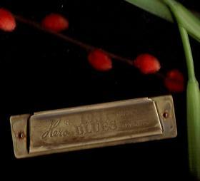 1931年     十孔口琴(蓝调口琴或布鲁斯口琴)保存完美