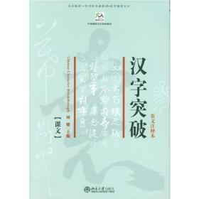 汉字突破 全2册 9787301092866 周健 北京大学出版社 正版图书