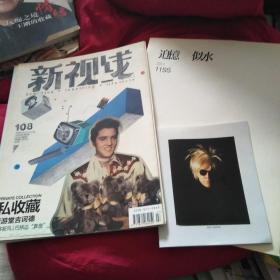 新视线 2011年4月总第108期+追忆 似水11SS+ 安迪沃霍尔 名人肖像波拉片小册3本合售