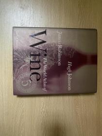 """(私藏)The World Atlas of Wine   休·约翰逊、简西斯•罗宾逊《世界葡萄酒地图》(后者也是葡萄酒""""圣经""""《牛津葡萄酒百科辞典》作者),精装,超大开本12开,重超2公斤"""