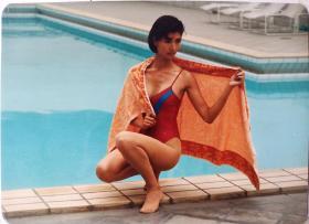 泳装 美女 照片
