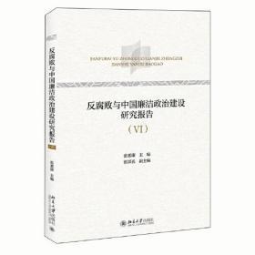 反腐败与中国廉洁政治建设研究报告(VI)
