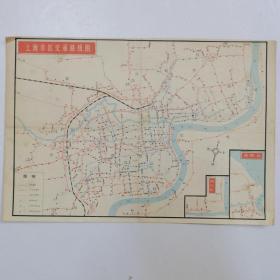 上海市郊区交通路线图/上海市区交通路线图