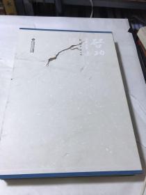 启功书画集法书卷(书皮破损册、内页也有破损硬物戳破共30页如图)