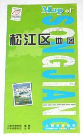 上海分区地图--松江区地图