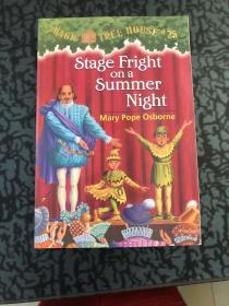 Stage Fright on a Summer Night (Magic Tree House #25) 神奇?
