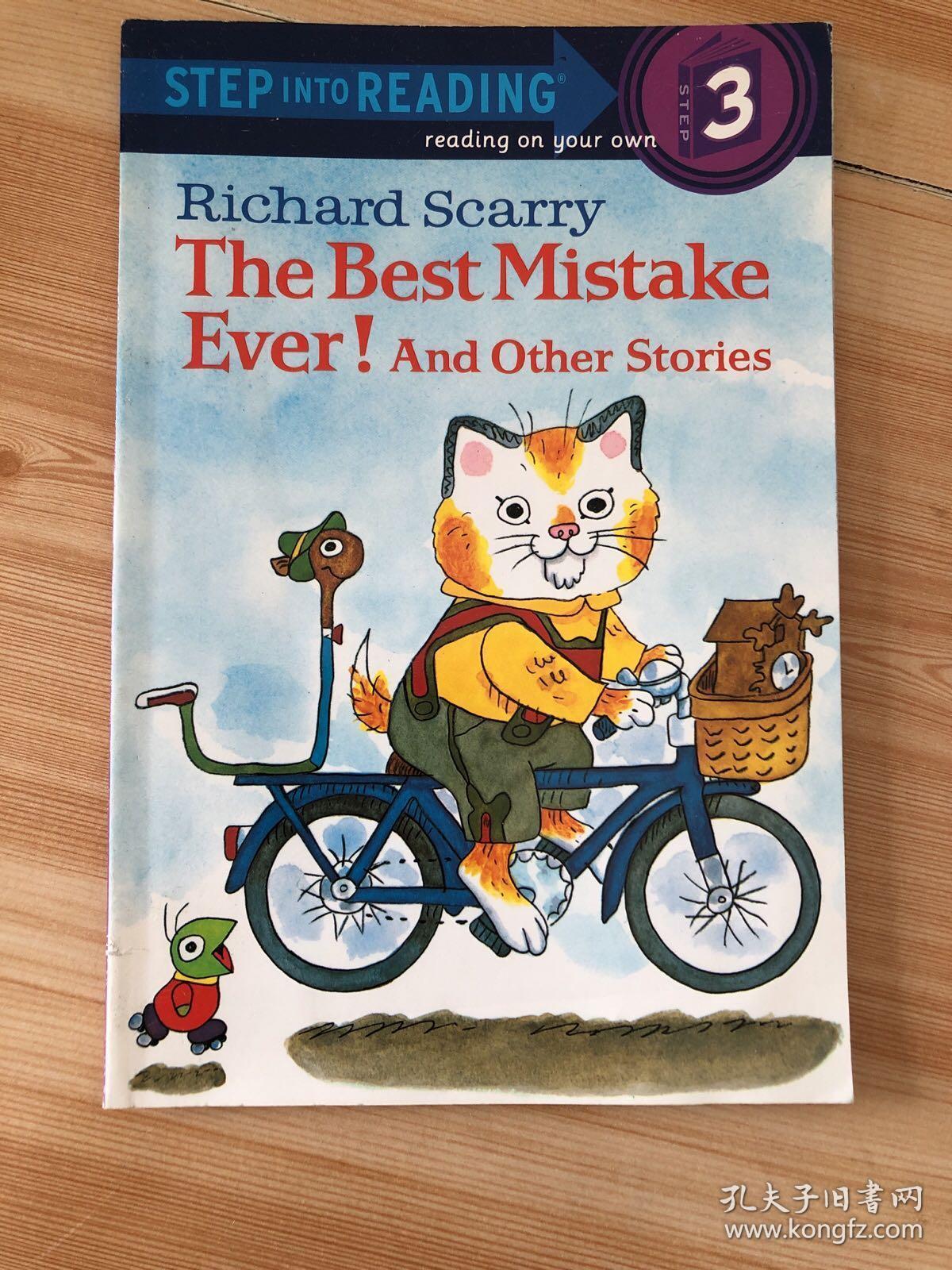The Best Mistake Ever! 进阶式阅读丛书:最好的错误 /Richard R