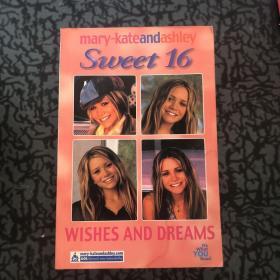 Mary -kateandAshley Sweet16 /forlaget CARLSEN