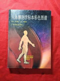 人体解剖学标本彩色图谱(硬精装16开,彩插图)