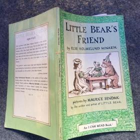 Little Bears Friend (I Can Read, Level 1)小熊的朋友 英文原版