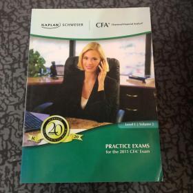PRACTICE EXAMS 2011 CFA9 Exam Levell Valume 2 /不详 不详