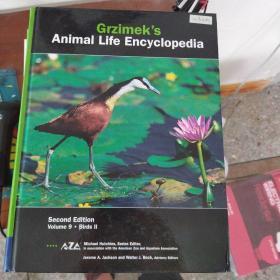 【外文原版】 Grzimeks Animal Life Encyclopedia Vol. 9 : Birds II   动物生活百科全书第9卷:鸟类II