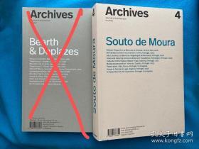 [现货] Souto de Moura  Archives Journal of Architecture 4