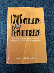 From Conformance to Performance: Best Corporate Governance P