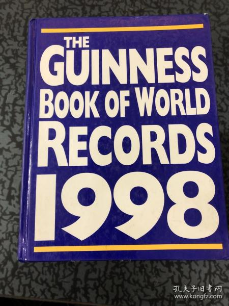 The Guinness book of world records 1998 /见图 见图