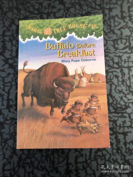 Buffalo before Breakfast (Magic Tree House #18)神奇树屋系列1