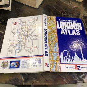 Geographers' LONDONA TLAS /请看图 请看图