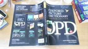 Oxford Picture Dictionary, 2nd Edition (Monolingual English)牛津英文图片词典 英文原版  C2