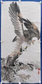 李尚哲:《雄鹰展翅》